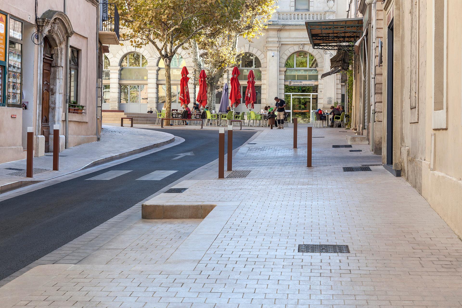 Aménagement du centre ville - Apt.