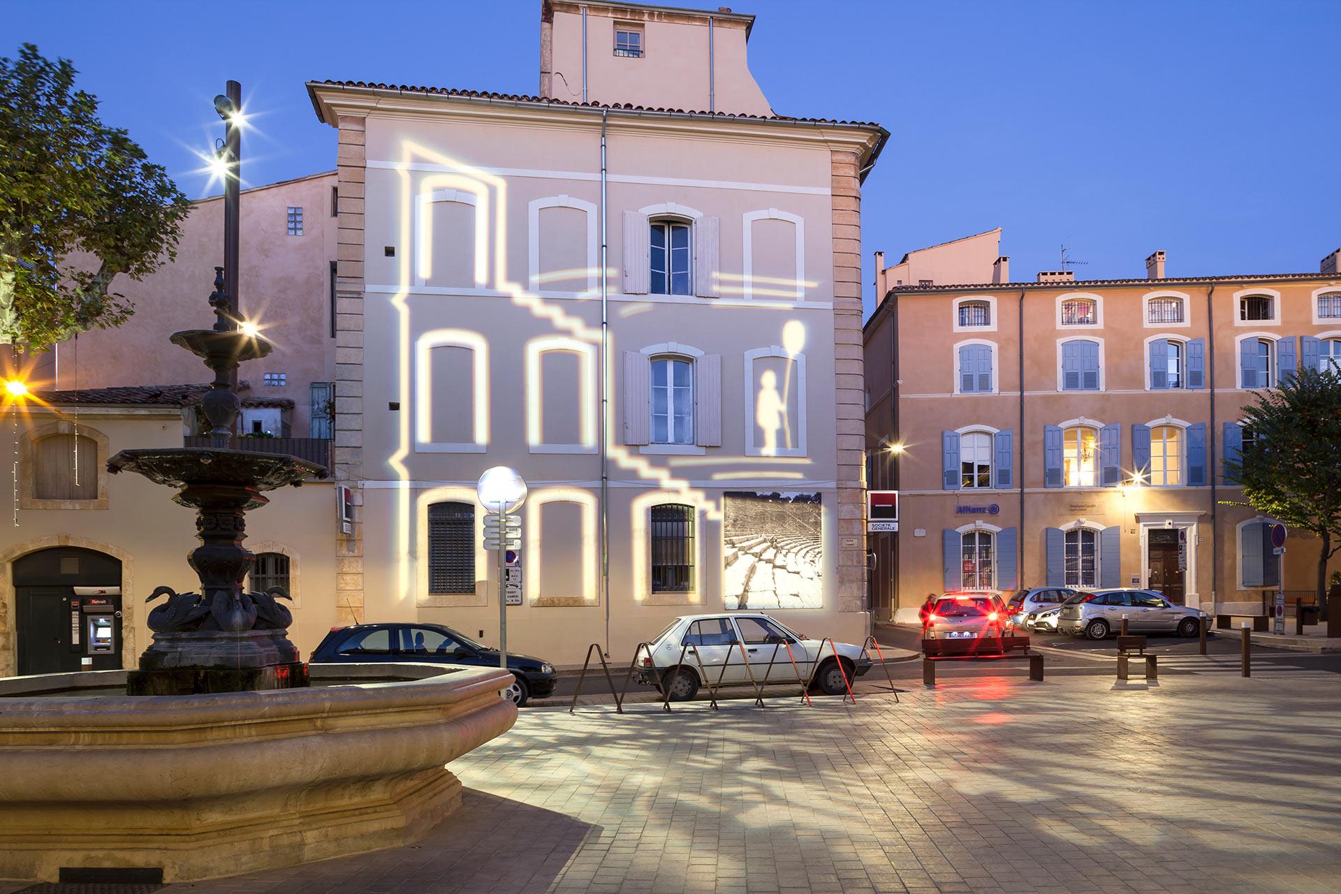 Place Carnot - Apt, conception Città architectes.
