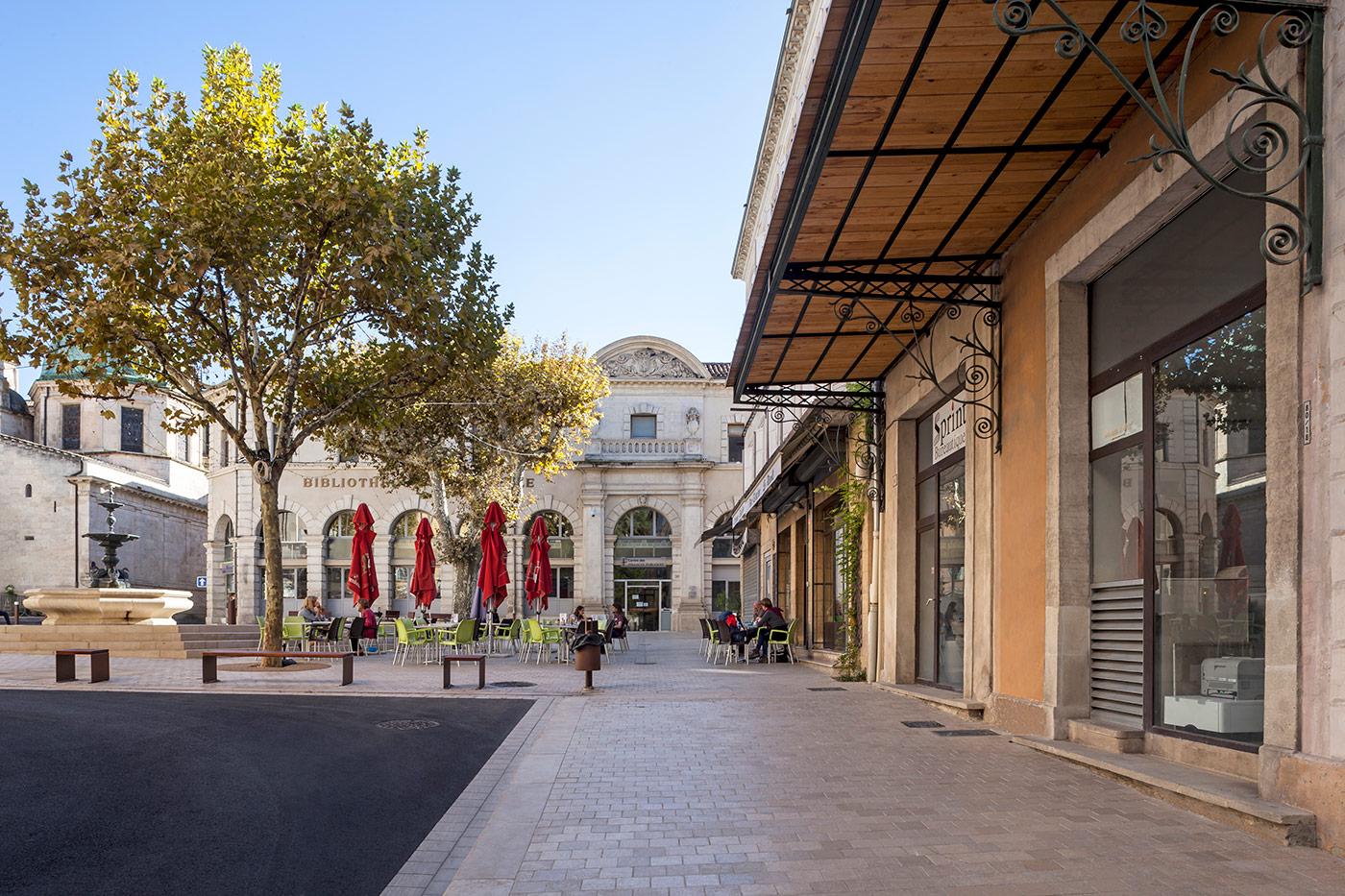 Place Carnot - projet Città Urbanisme et Paysage